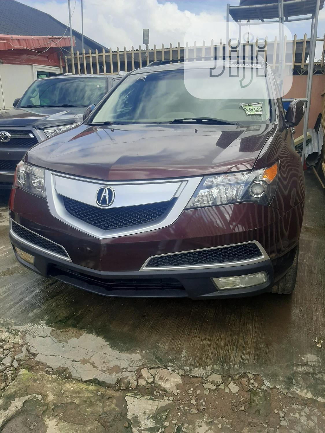 Acura MDX 2010 Red