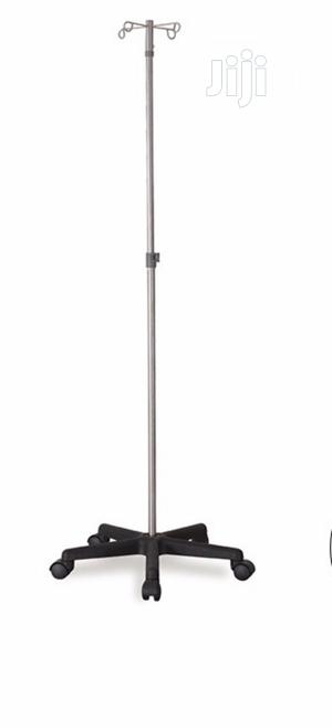 Hospital Infusion Stand Type I.V Pole Stand | Medical Supplies & Equipment for sale in Lagos State, Surulere