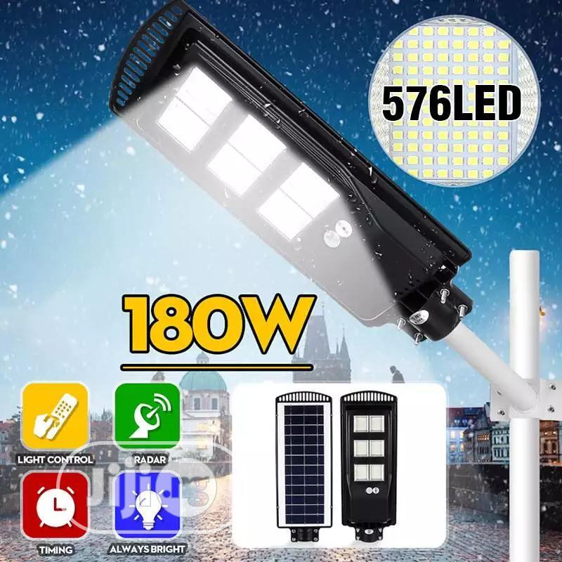 All In One 180w Soler Street Light Motion Sensor Control