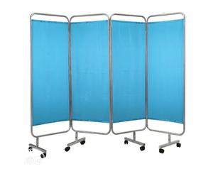 Stainless Steel 4 Folding Medical Ward Screen   Medical Supplies & Equipment for sale in Lagos State, Surulere