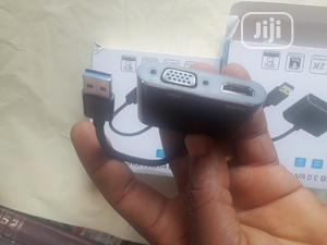 USB To Vga/Hdmi   Computer Accessories  for sale in Lagos State, Ikeja