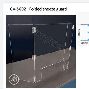 Acrylic Folding Shield, Portable & Foldable Protective Panel   Safetywear & Equipment for sale in Lagos State, Ikoyi