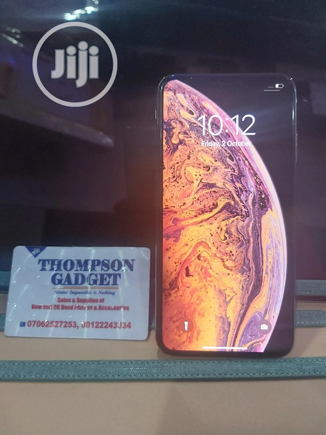 Apple iPhone XS Max 256 GB Gold | Mobile Phones for sale in Wuse, Abuja (FCT) State, Nigeria