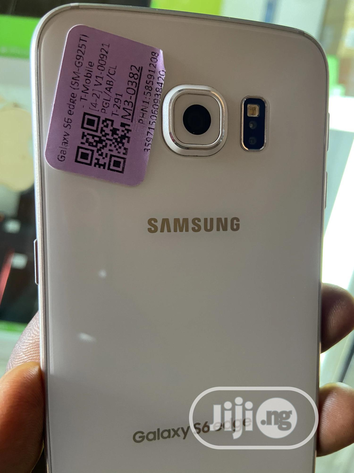 Samsung Galaxy S6 edge 32 GB Blue   Mobile Phones for sale in Ikeja, Lagos State, Nigeria