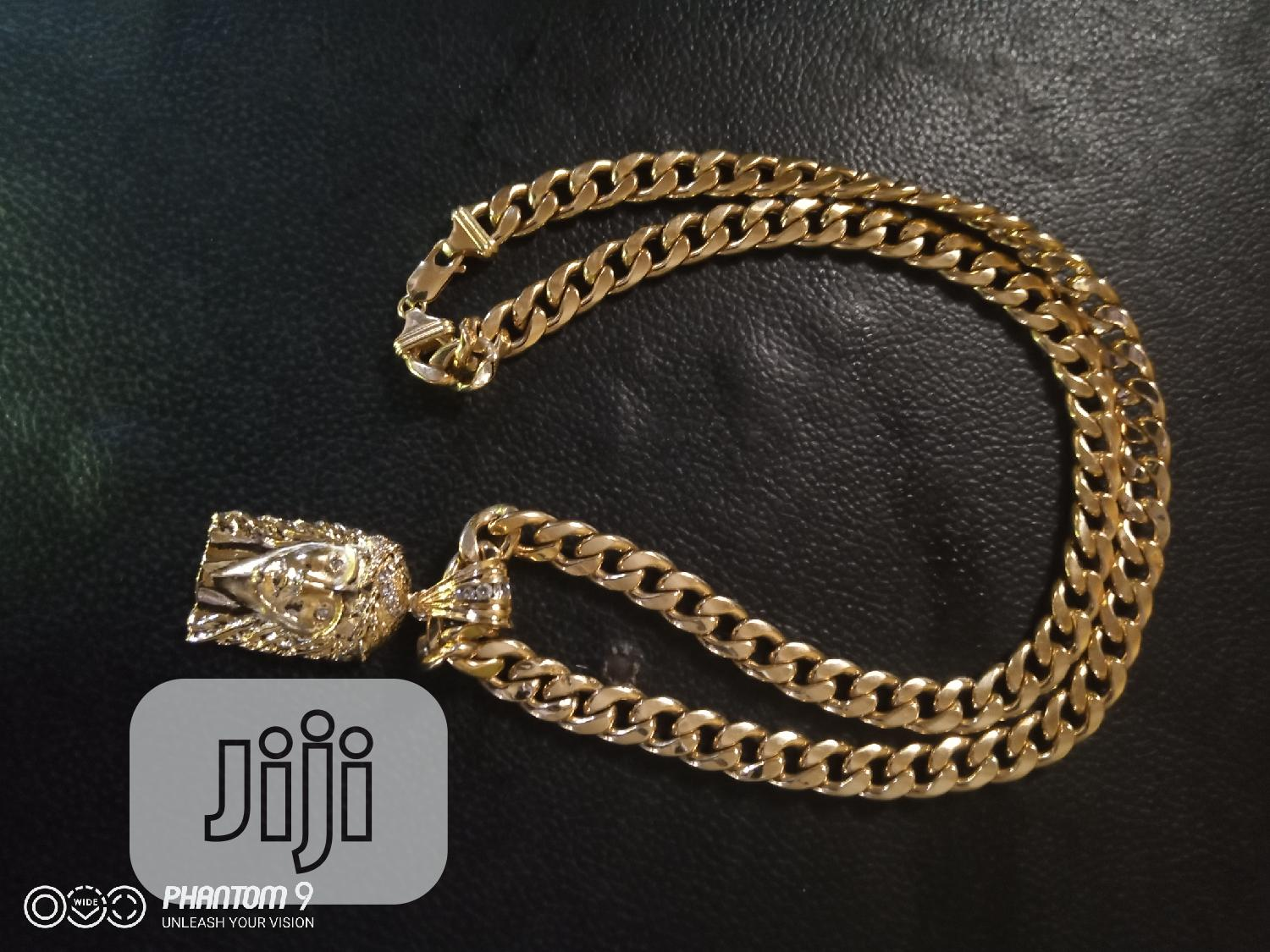 Archive: Pure Gold 18karat Cuban Chain Latest Is Available