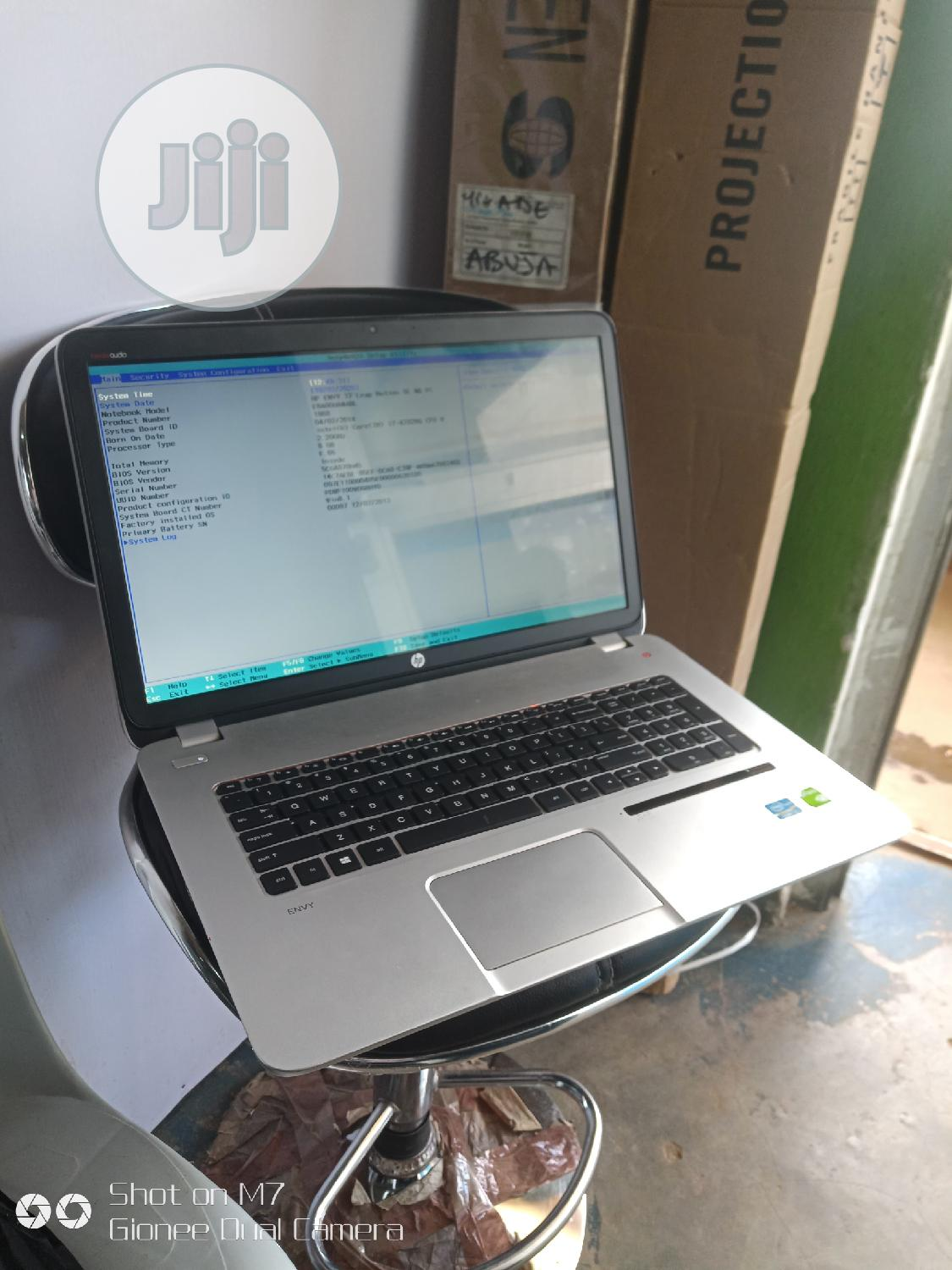 Laptop HP Envy 17 8GB Intel Core I7 HDD 1T | Laptops & Computers for sale in Wuse, Abuja (FCT) State, Nigeria