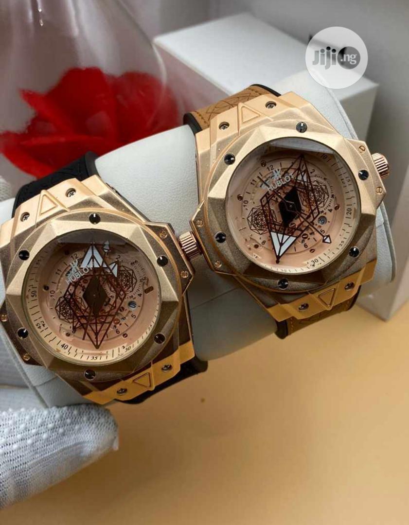 Skeletal Hublot Watch and Bracelet | Watches for sale in Lagos Island (Eko), Lagos State, Nigeria