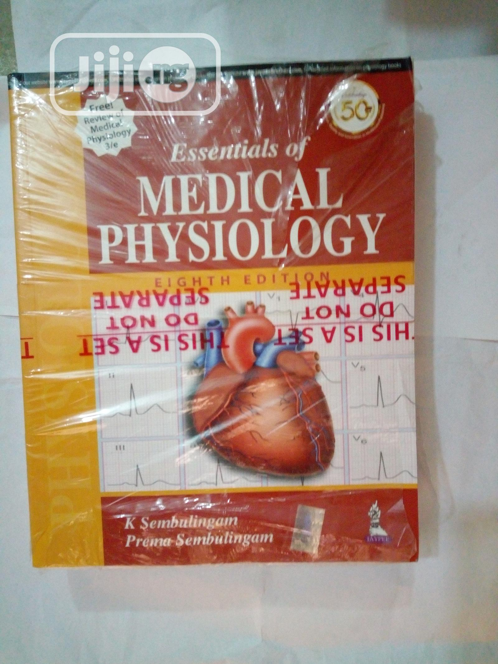 Medical Essential Physiology | Books & Games for sale in Surulere, Lagos State, Nigeria