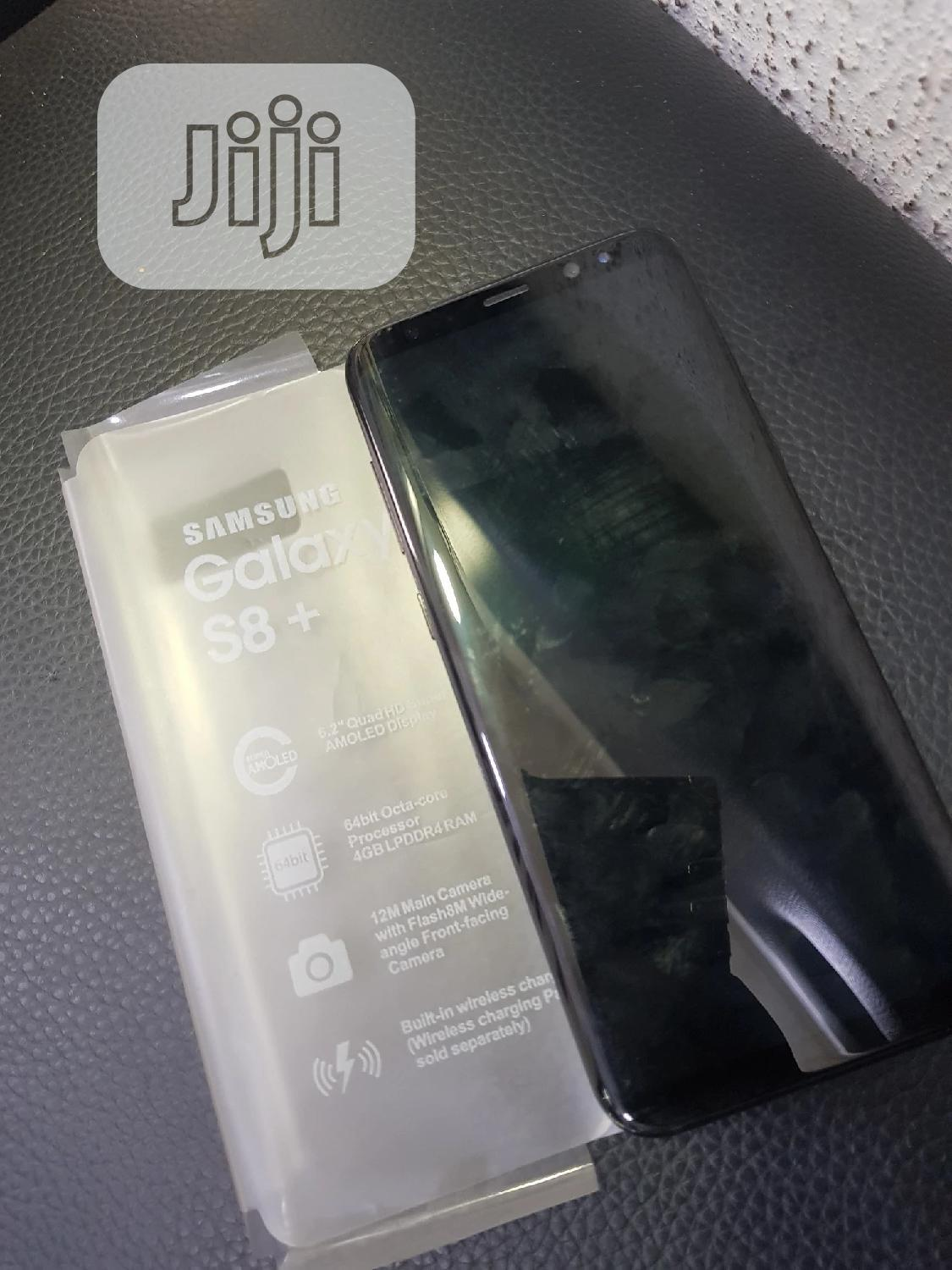 Samsung Galaxy S8 Plus 64 GB Black