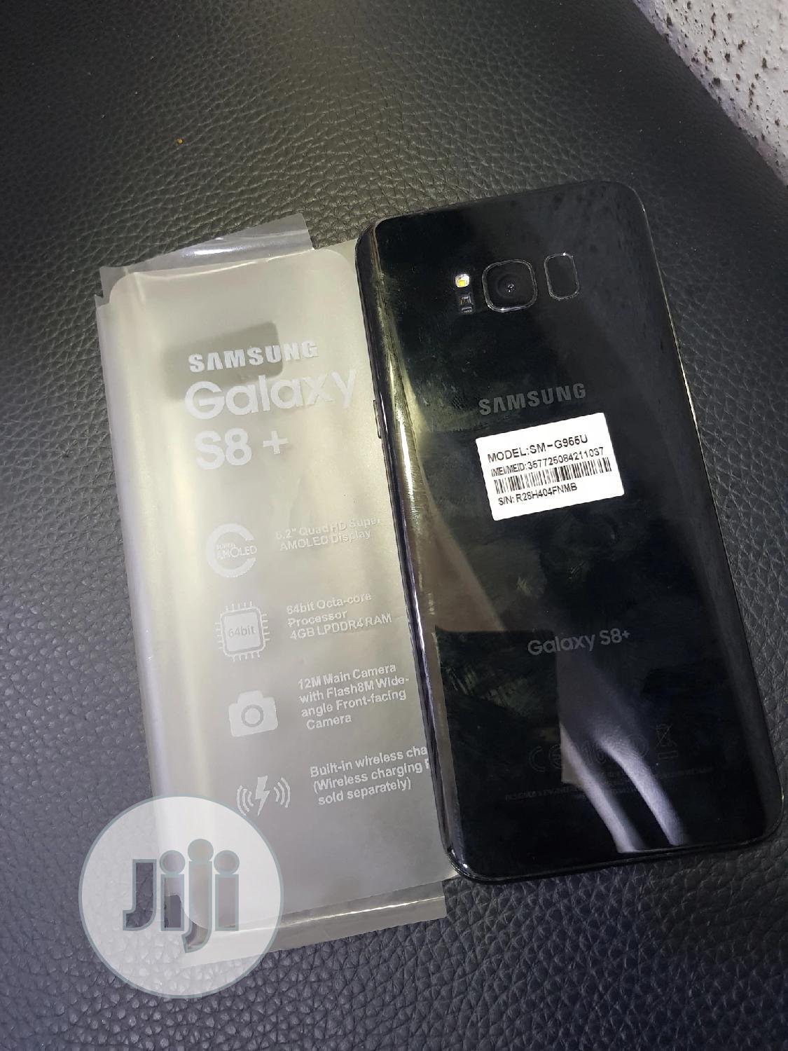 Samsung Galaxy S8 Plus 64 GB Black | Mobile Phones for sale in Victoria Island, Lagos State, Nigeria