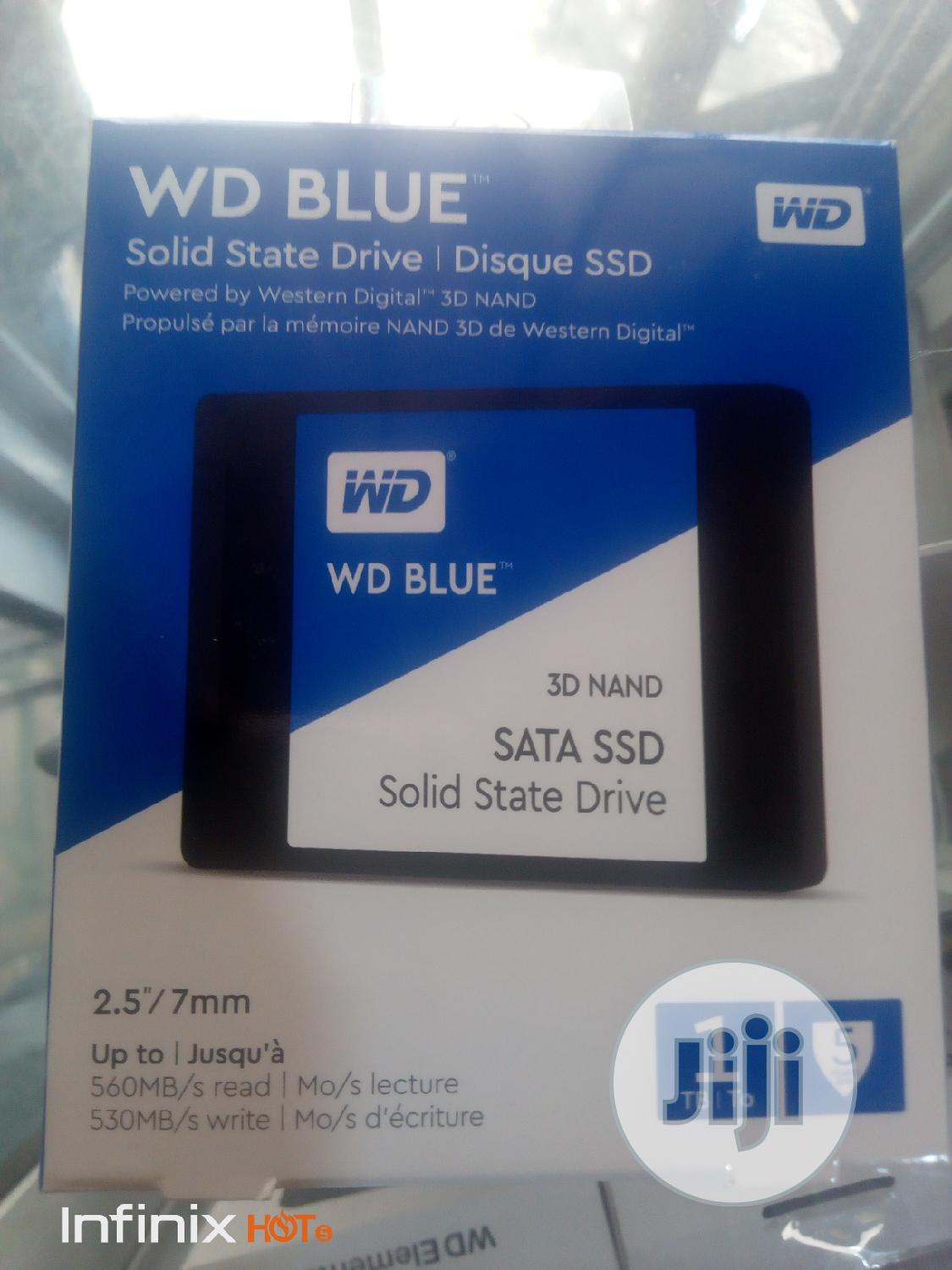 WD BLUE Solid State Drive1tb