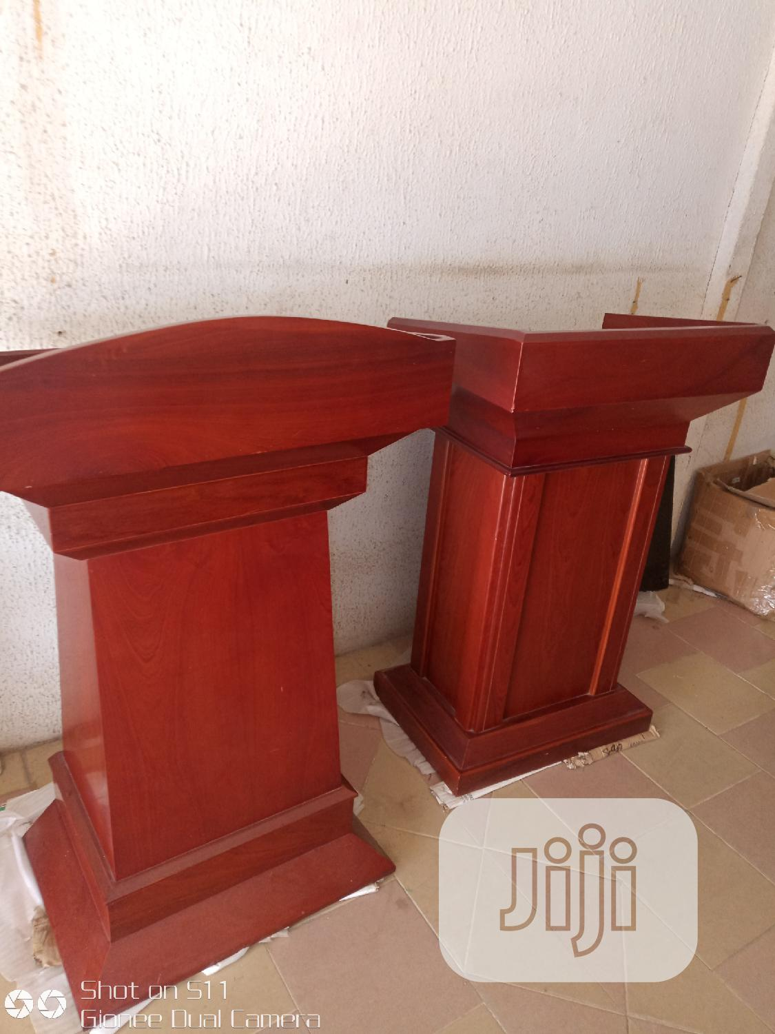 Imported Wooden Pulpits | Furniture for sale in Ojo, Lagos State, Nigeria