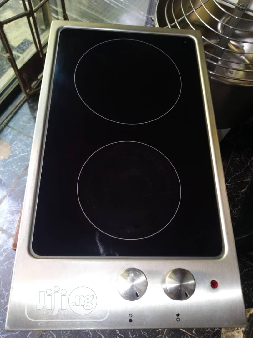 2 Burner Cabinet Electric Cooker