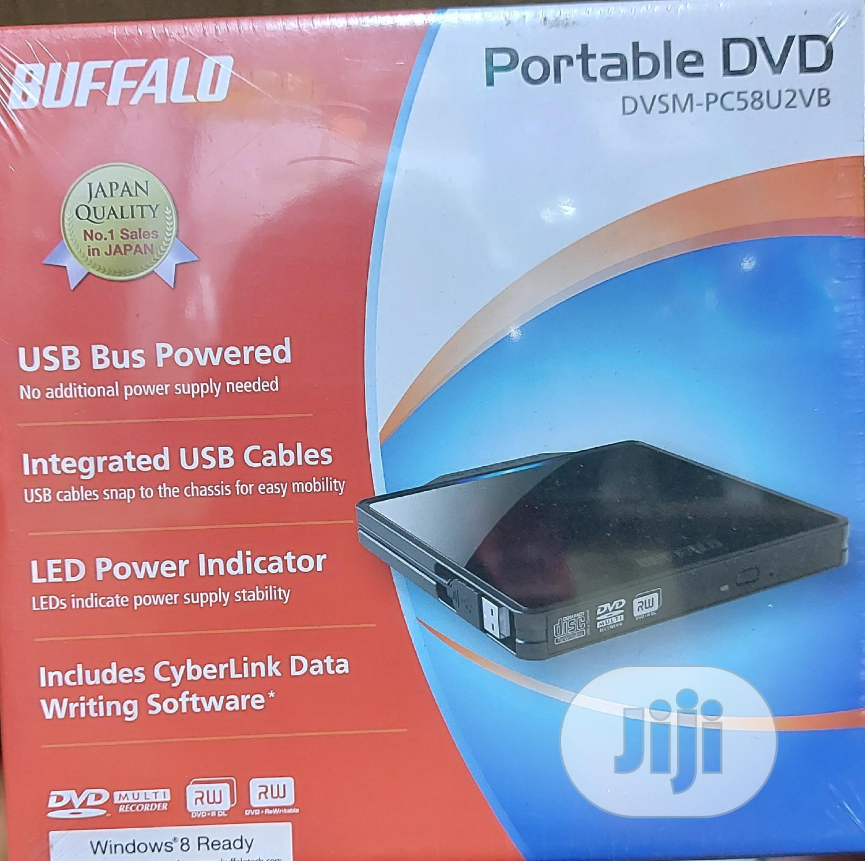 Buffalo Portable DVD Drive Writer   Computer Hardware for sale in Ikeja, Lagos State, Nigeria