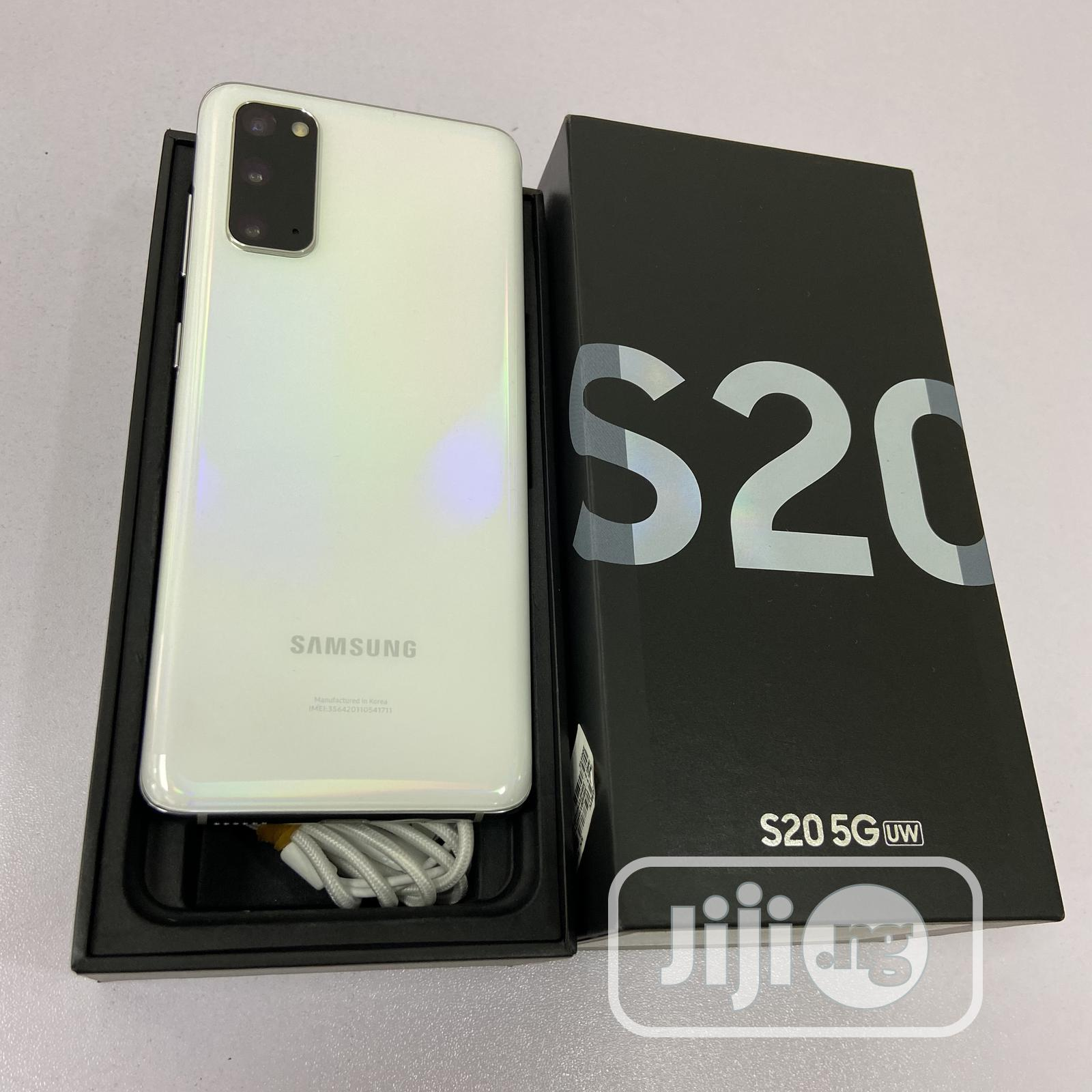 Samsung Galaxy S20 FE 5G SD865 White | Mobile Phones for sale in Ikeja, Lagos State, Nigeria
