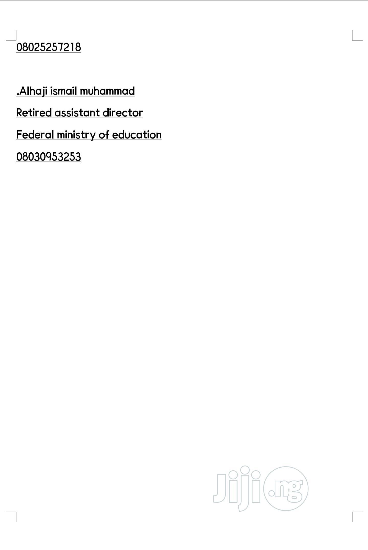 Clerical & Administrative CV | Clerical & Administrative CVs for sale in Kaduna / Kaduna State, Kaduna State, Nigeria