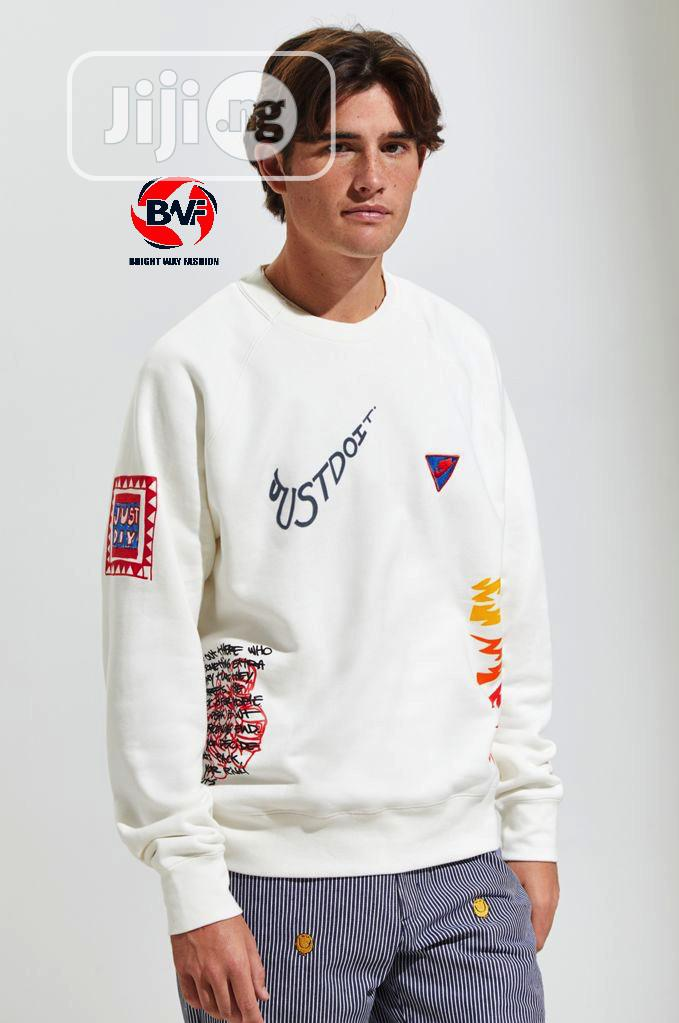 Nike Just Do It Crew Neck Sweatshirt Sold Out | Clothing for sale in Wuse 2, Abuja (FCT) State, Nigeria