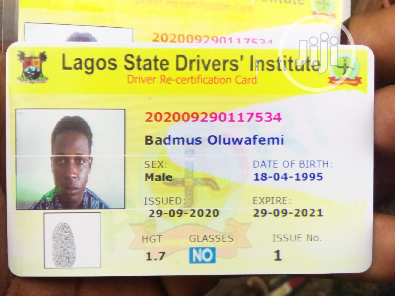 Personal Driver | Driver CVs for sale in Lekki, Lagos State, Nigeria