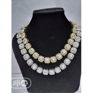 Cuban Link Chains Gold and Silver   Jewelry for sale in Lagos State, Apapa