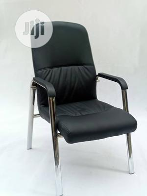 Leather Visitor's Chair   Furniture for sale in Lagos State, Ojo