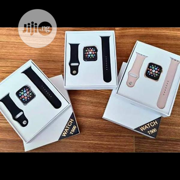 T500 Smart Watch Makes Call For Apple Ios And Andriod | Smart Watches & Trackers for sale in Ikeja, Lagos State, Nigeria