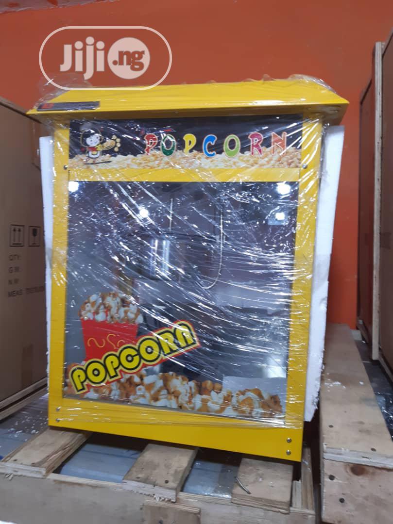 Foreign Popcorn Machine