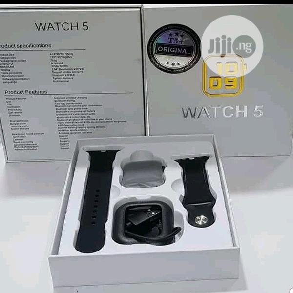 Watch 5 Plus Smart Watch | Smart Watches & Trackers for sale in Ikeja, Lagos State, Nigeria