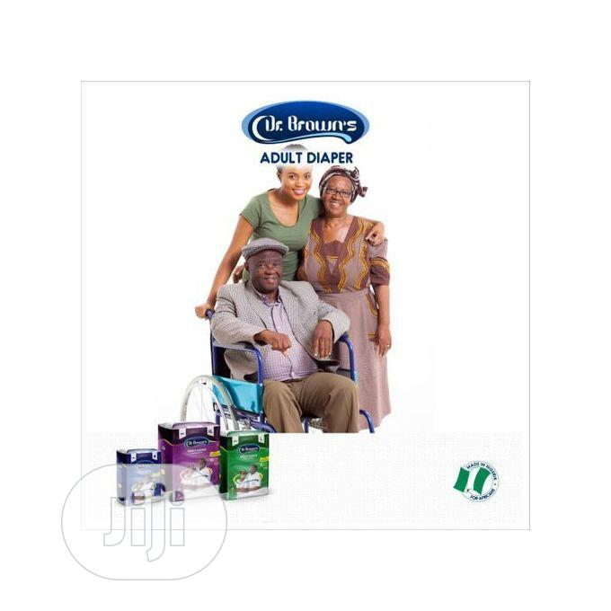 Dr Brown Dr.Brown Adult Diaper (10 Pacs Per Bag),Meduium | Bath & Body for sale in Agege, Lagos State, Nigeria