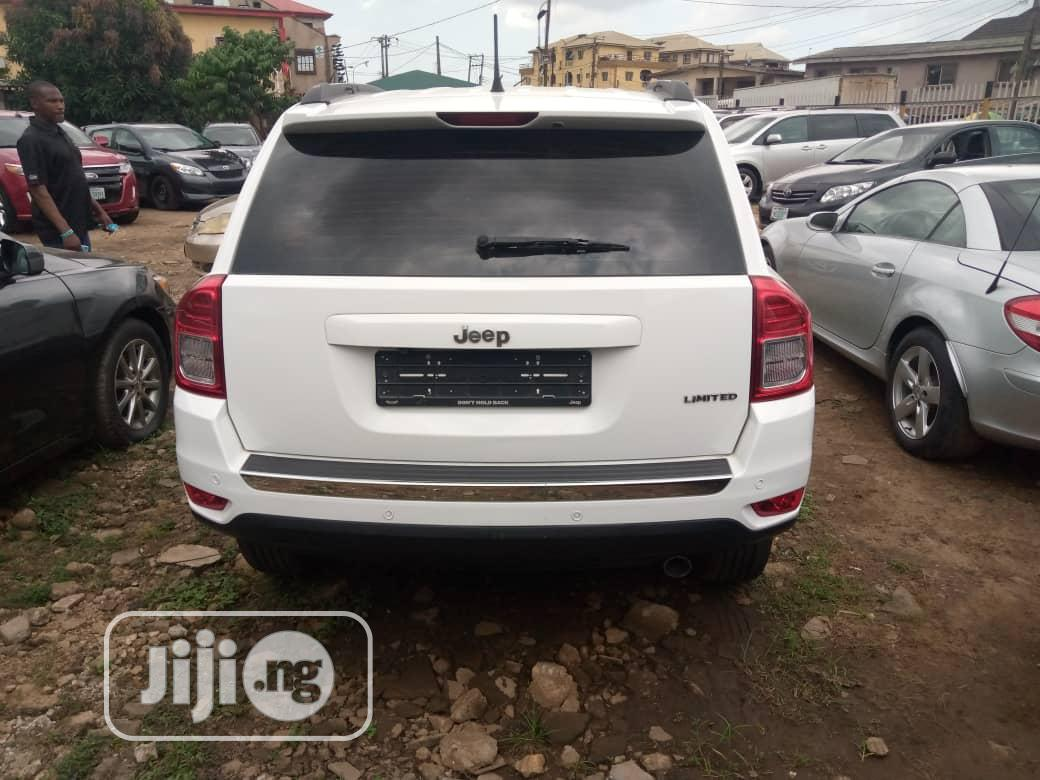 Jeep Compass 2014 White | Cars for sale in Isolo, Lagos State, Nigeria