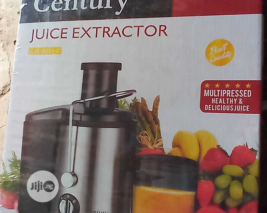 Archive: Juice Extractor