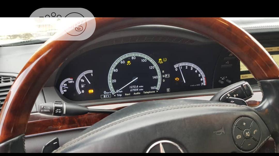 Archive: Mercedes-Benz S Class 2011 Black