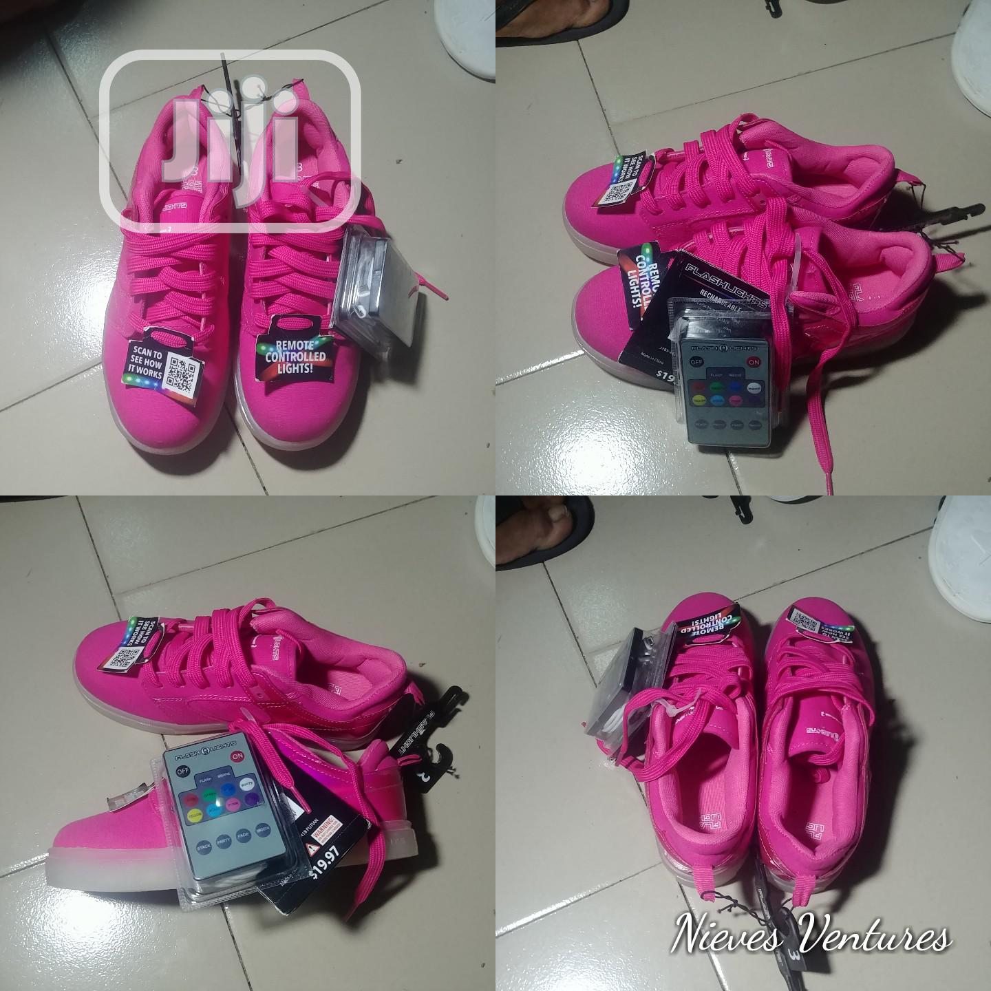 Flash Light Remote Control Sneakers in