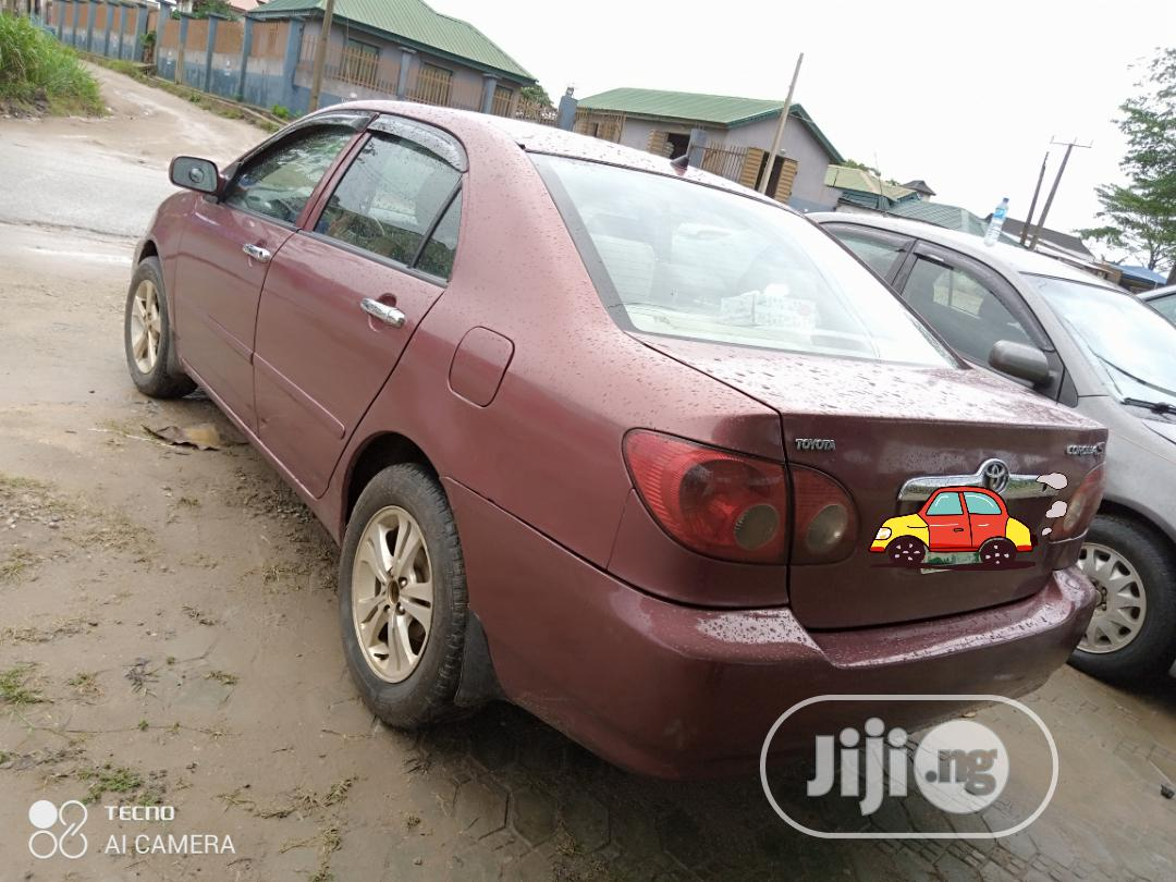 Archive: Toyota Corolla 2007 LE Red