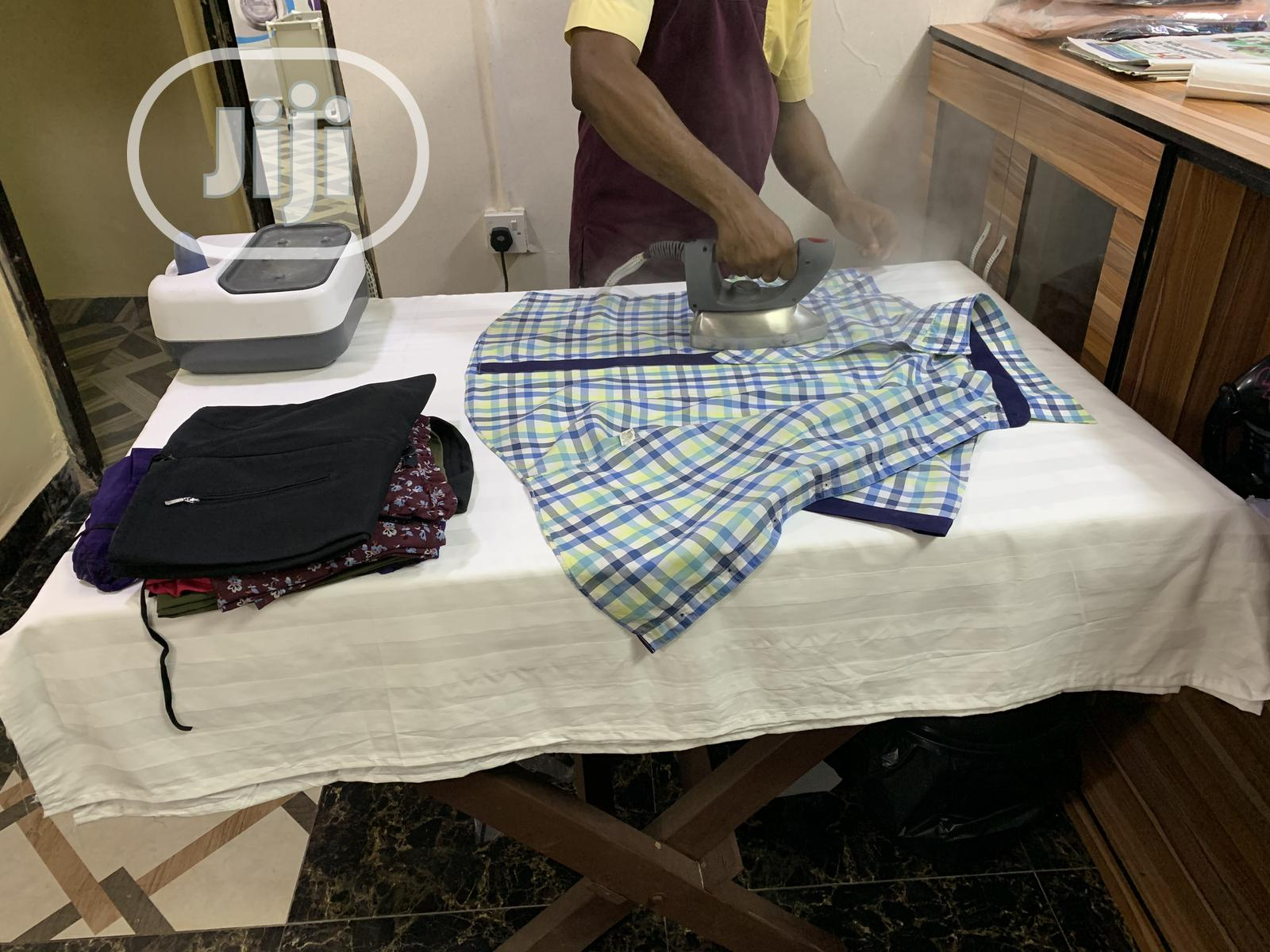 Washing And Ironing   Cleaning Services for sale in Surulere, Lagos State, Nigeria