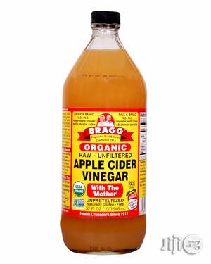 Organic Raw Filtered Apple Cider Vinegar-32 FL OZ (Big Size) | Vitamins & Supplements for sale in Lagos State, Magodo