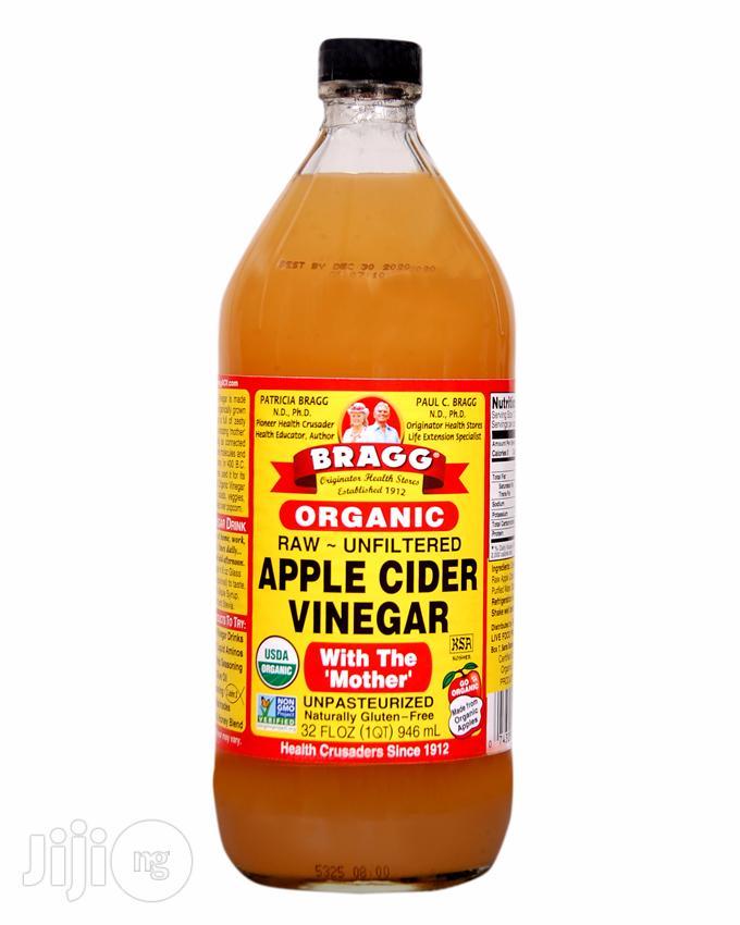 Organic Raw Filtered Apple Cider Vinegar-32 FL OZ (Big Size)