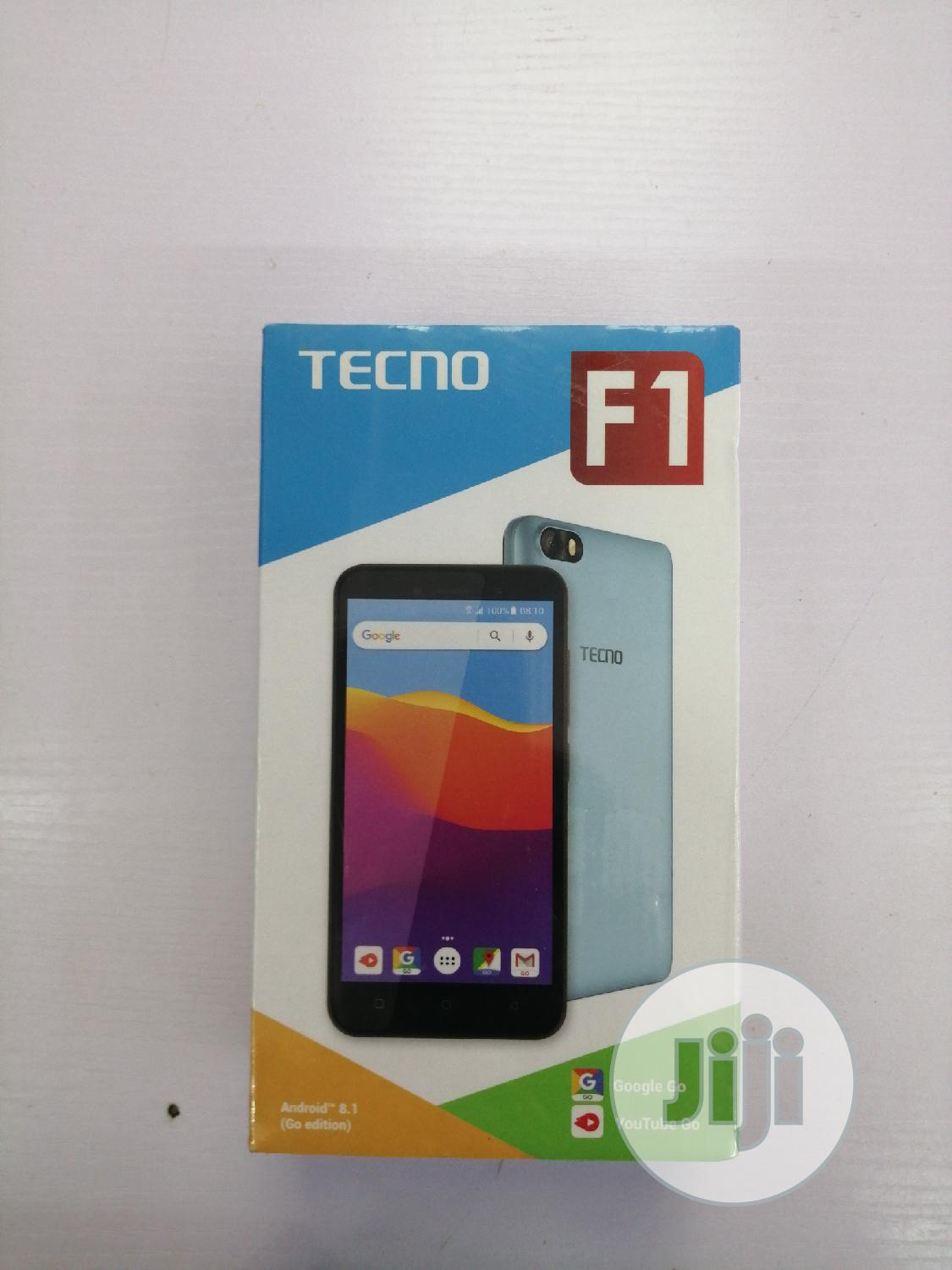 New Tecno F1 8 GB Gold | Mobile Phones for sale in Garki 2, Abuja (FCT) State, Nigeria