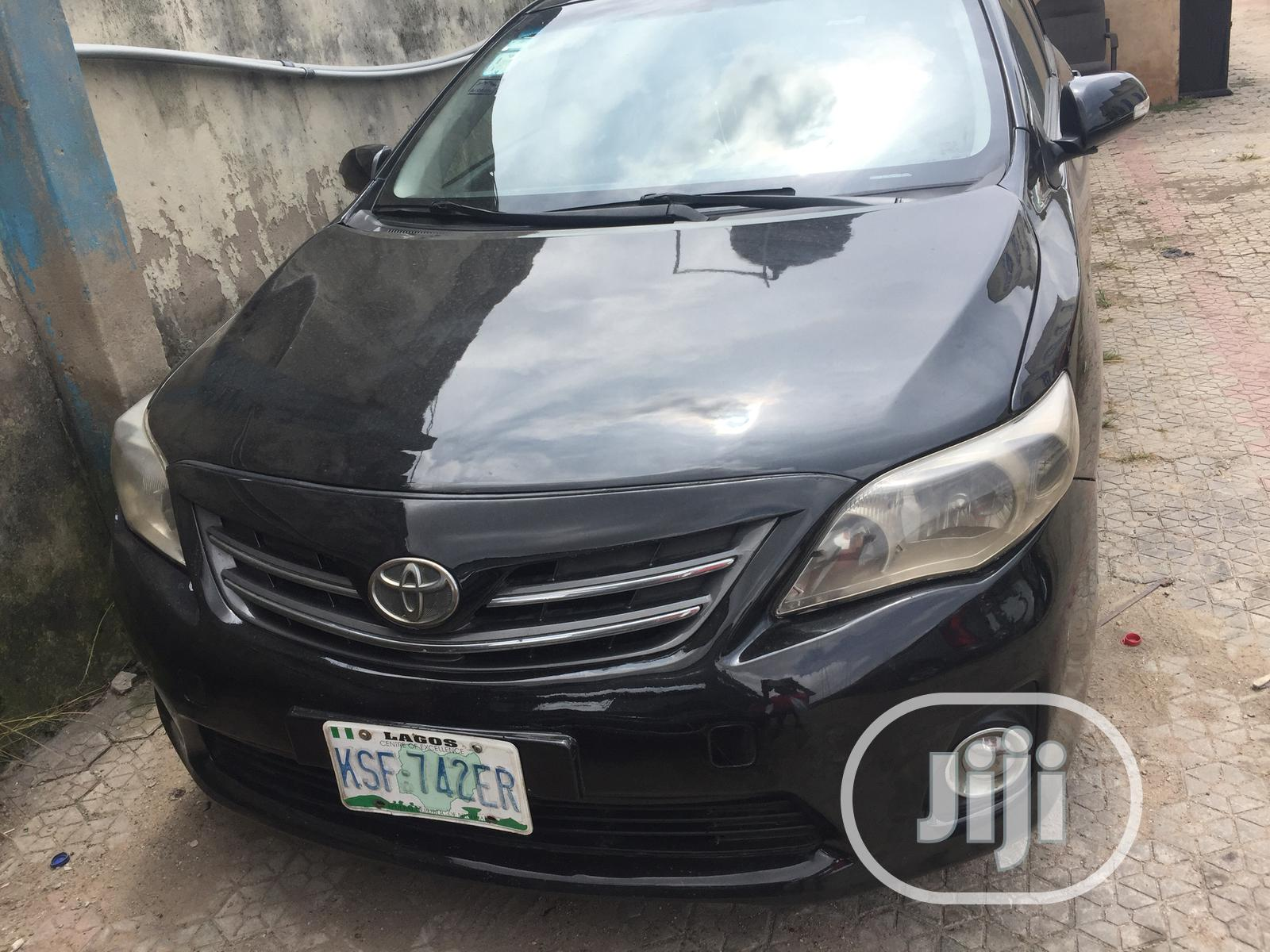 Toyota Corolla 2010 Black In Ikeja Cars Kenny Autos Jiji Ng For Sale In Ikeja Buy Cars From Kenny Autos On Jiji Ng
