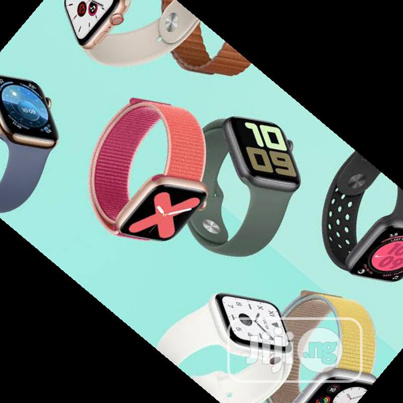 Apple Watch Series 5 Smart Watch   Smart Watches & Trackers for sale in Ikeja, Lagos State, Nigeria