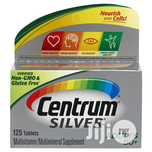 Centrum Silver Adult (125 Tab) Complete Multivitamin Age 50+