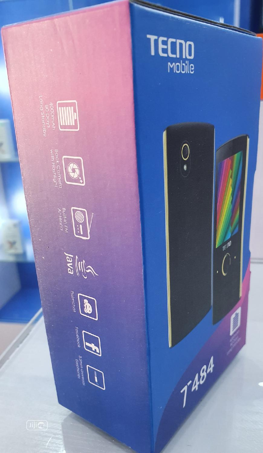 New Tecno T484 Black | Mobile Phones for sale in Ogba, Lagos State, Nigeria