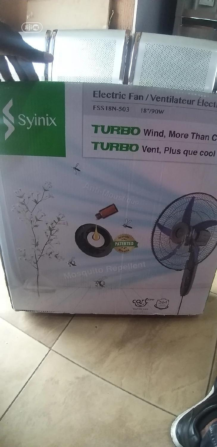 Synix Mosquito Repellent Fan FSS18N-503