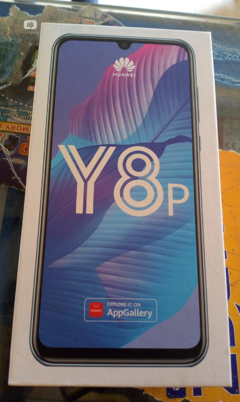 New Huawei Y8p 128 GB Blue