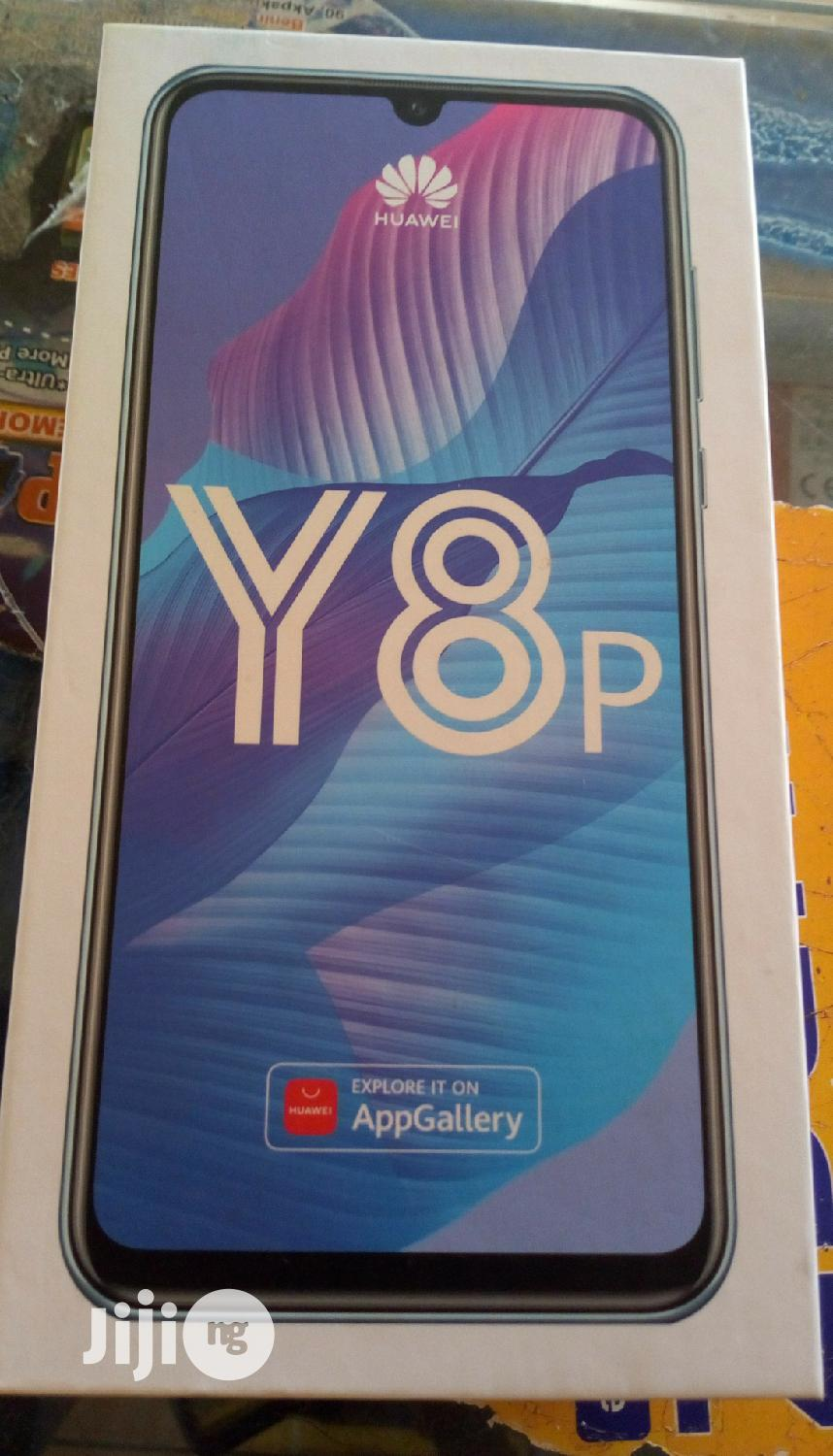 New Huawei Y8p 128 GB Blue   Mobile Phones for sale in Wuse, Abuja (FCT) State, Nigeria