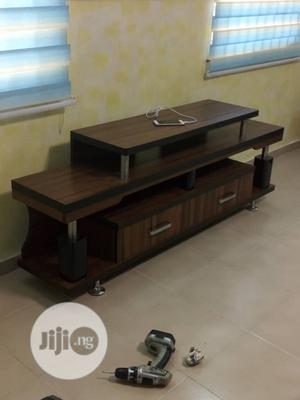 Wooden T.V Stand For Sale   Furniture for sale in Lagos State, Ikeja