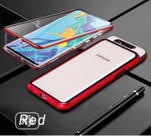Fully Body Adsorption Magnetic Cover Samsung A80   Accessories for Mobile Phones & Tablets for sale in Lagos State, Ikeja