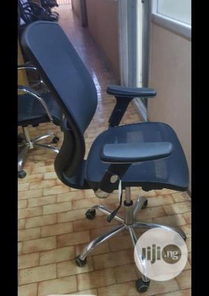 Executive Office Net Chair, Vigor Black for Sale   Furniture for sale in Lagos State, Ikeja