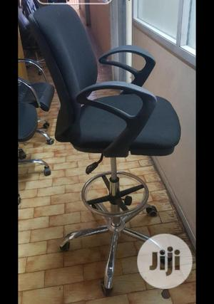 Executive Office Chair With Fabrics Black for Sale   Furniture for sale in Lagos State, Ikeja