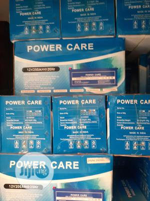12v 200ah Power Care Battery Is Available | Solar Energy for sale in Lagos State, Ojo