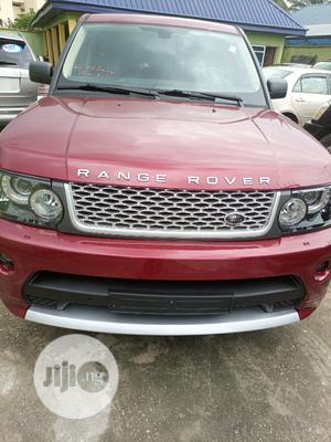 Land Rover Range Rover Sport 2008 4.2 V8 SC Red | Cars for sale in Abia State, Aba South